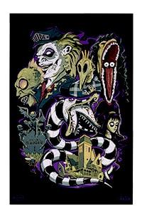 Halloween Horror Nights 2021 BEETLEJUICE™ Poster