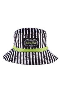 Halloween Horror Nights 2021 BEETLEJUICE™ Reversible Bucket Hat