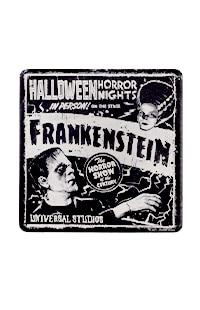 Halloween Horror Nights 2021 Frankenstein Coaster