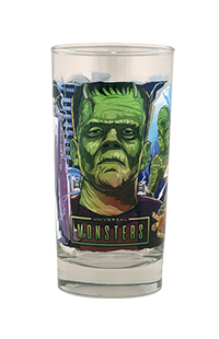 Halloween Horror Nights 2021 Universal Monsters Collectible Glass