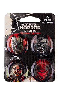 Halloween Horror Nights 2021 Icons Button Set