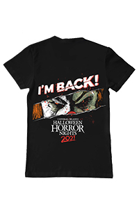 Limited Release Halloween Horror Nights 2021 Jack Adult T-Shirt