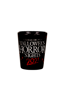 Halloween Horror Nights 2021 Retro Marquee Shot Glass