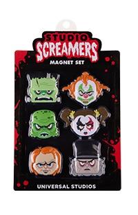 Halloween Horror Nights 2021 Studios Screamers Magnet Set