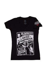 Halloween Horror Nights 2021 The Bride of Frankenstein Ladies T-Shirt