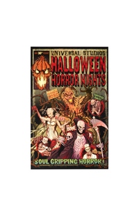 Halloween Horror Nights Comic Poster