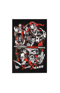 Halloween Horror Nights Icons Poster