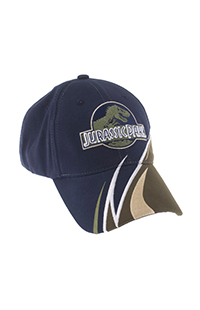 Jurassic Park Logo Adult Cap