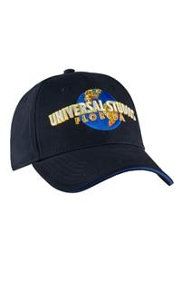 Universal Studios Florida Black Embroidered Adult Cap