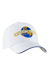 Universal Studios Florida White Embroidered Adult Cap