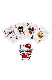 Hello Kitty® Goes to the Movies Playing Cards