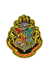 Hogwarts™ Crest Iron-On Patch