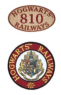 Hogwarts™ Railways Iron-On Patch Set