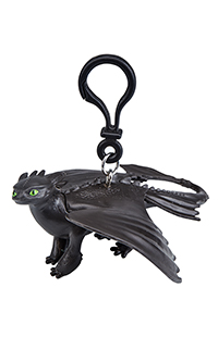 How to Train Your Dragon Toothless Figurine Keychain