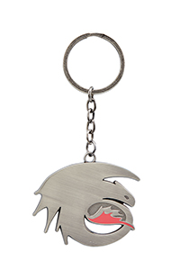 How to Train Your Dragon Toothless Metal Keychain