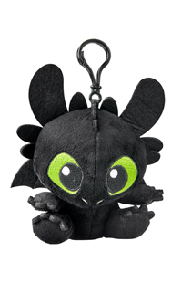 How to Train Your Dragon Toothless Plush Keychain