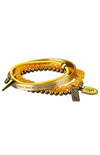 Hufflepuff™ Bracelet Set