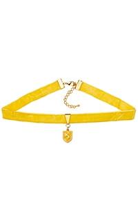 Hufflepuff™ Crest Choker Necklace