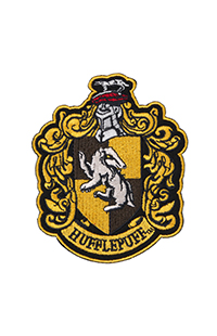 Hufflepuff™ Crest Iron-On Patch