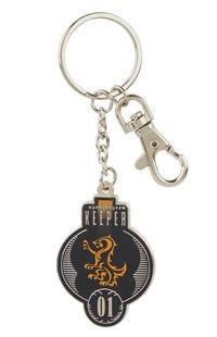Hufflepuff™ Quidditch™ Keeper Keychain
