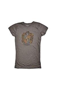 Hufflepuff™ Rhinestone Crest Ladies T-Shirt