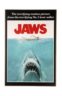 "Jaws Poster 13"" x 19"" Wall Décor"