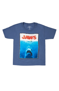 Jaws Poster Youth T-Shirt