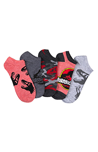 Jurassic Park 5-Pack Adult Socks