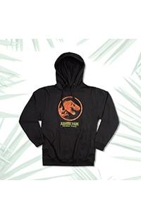 Jurassic Park Adult Hooded Sweatshirt