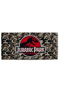 Jurassic Park Camo Beach Towel