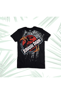 Jurassic Park Claws Adult T-Shirt