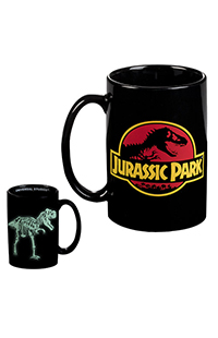 Jurassic Park Glow-In-The-Dark Mug