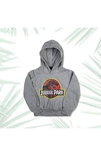 Jurassic Park Logo Youth Hooded Sweatshirt