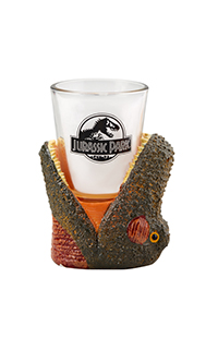 Jurassic Park T. Rex Shot Glass