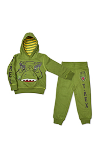 "Jurassic Park ""T-Rex"" Toddler Sweatshirt and Pants Set"