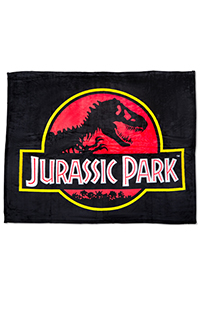 Jurassic Park Throw Blanket