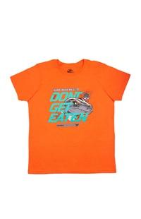 Jurassic World Camp Cretaceous Don't Get Eaten Youth T-Shirt
