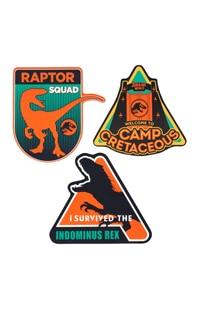 Jurassic World Camp Cretaceous Sticker Set