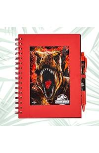 Jurassic World Journal With Pen