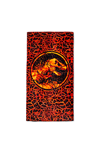 Jurassic World Logo Beach Towel