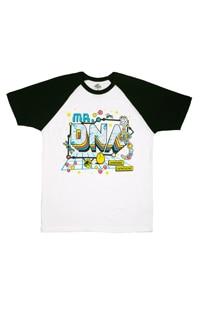 Jurassic World Mr. DNA Adult Raglan T-Shirt