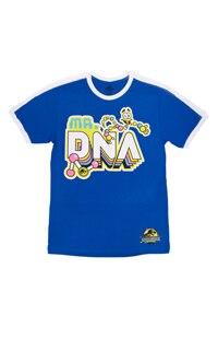 Jurassic World Mr. DNA Adult Ringer T-Shirt