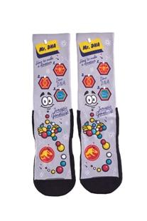 Jurassic World Mr. DNA Adult Socks