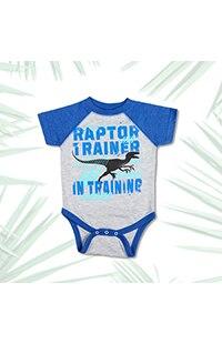 Jurassic World Raptor Trainer Infant Bodysuit