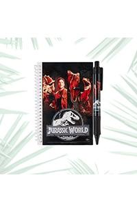 Jurassic World Spiral Journal With Pen