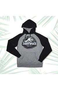 Jurassic World Stone Logo Adult Sweatshirt