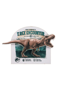 Jurassic World T. Rex Encounter Wood Magnet