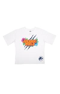 Jurassic World Tropical Ladies Crop T-Shirt