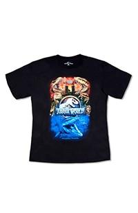 Jurassic World Universal Studios Adult T-Shirt
