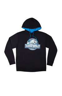 Jurassic World VelociCoaster Adult Hooded Sweatshirt